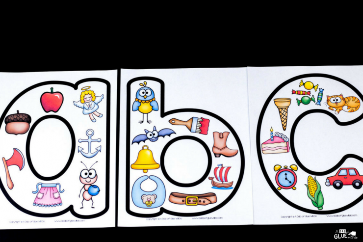 Your students are going to LOVE these lowercase alphabet posters! The perfect addition to your literacy center.