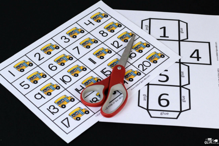 Who says going back to learning has to be boring? Your students will have so much FUN playing this Back to School First to 20 game in your math center.
