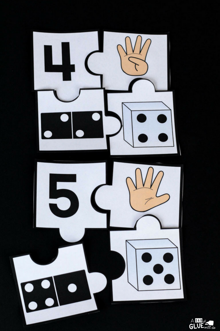 Are your students just learning about numbers? Then you are going to LOVE using these number puzzles!
