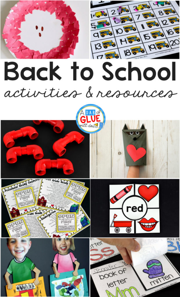 As you prepare yourself and your classroom for going back to school, be sure to check out our very best back to school activities and resources! #backtoschool #bts #backtoschoolcrafts #backtoschoolactivities #backtoschoolfreebies