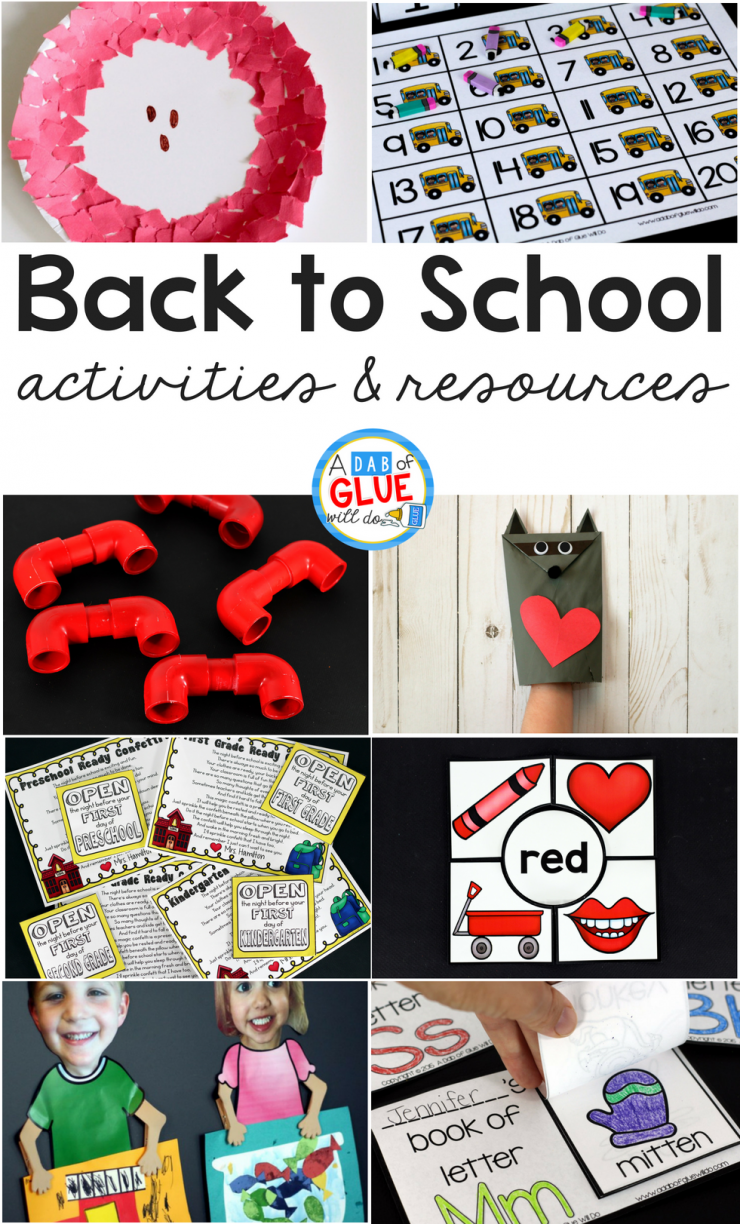 As you prepare yourself and your classroom for back to school, be sure to take us with you! Here are some of our best back to school activities and resources.