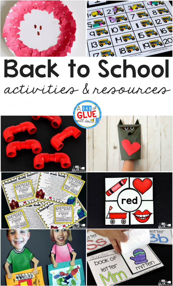 As you prepare your classroom, and yourself, for back to school; be sure to check out our favorite back to school activities and resources! All of our favorites in one place!