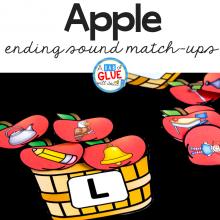 Apple Ending Sound Match Up