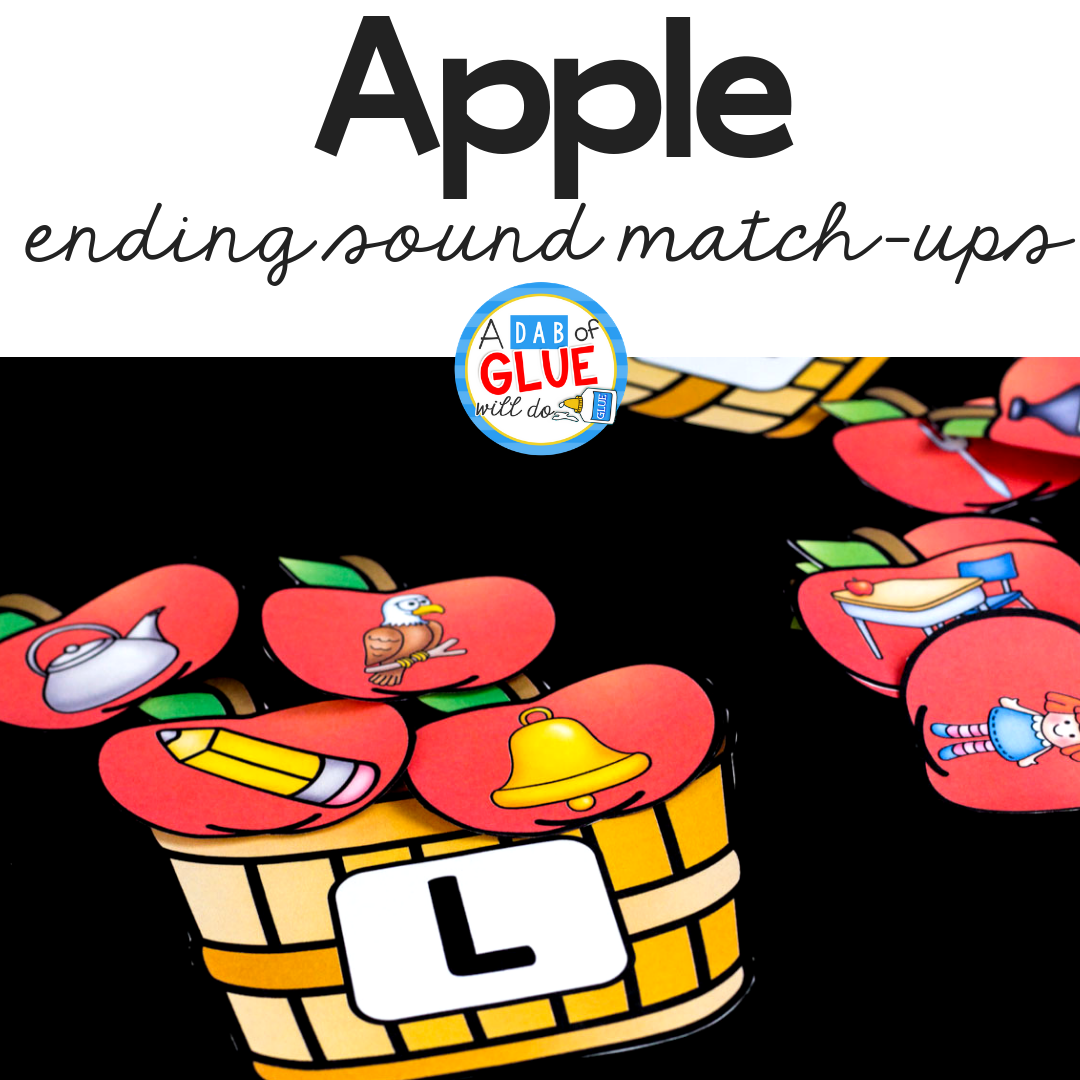 Apple Ending Sound Match Up