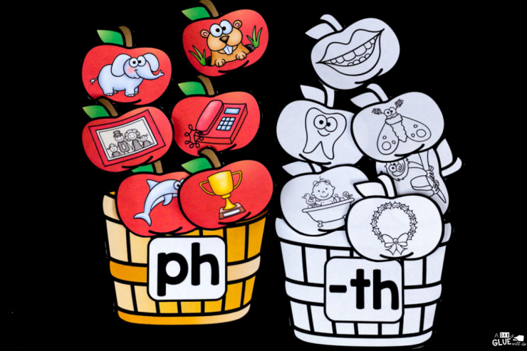 Incorporate this apple diagraph match up into your Johnny Appleseed unit or into your Fall learning fun. Ideal for your early literacy center in your PreK, Kindergarten, or First Grade classroom.