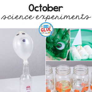 To connect Halloween activities with science, we've created these four October Science Experiments so your students can review science in an enjoyable hands-on way!