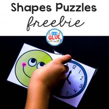 Shapes Puzzles Freebie