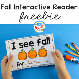 This I See Fall Interactive Reader is a fun hands-on way for students to actively engage and improve their reading skills and increase their vocabulary.