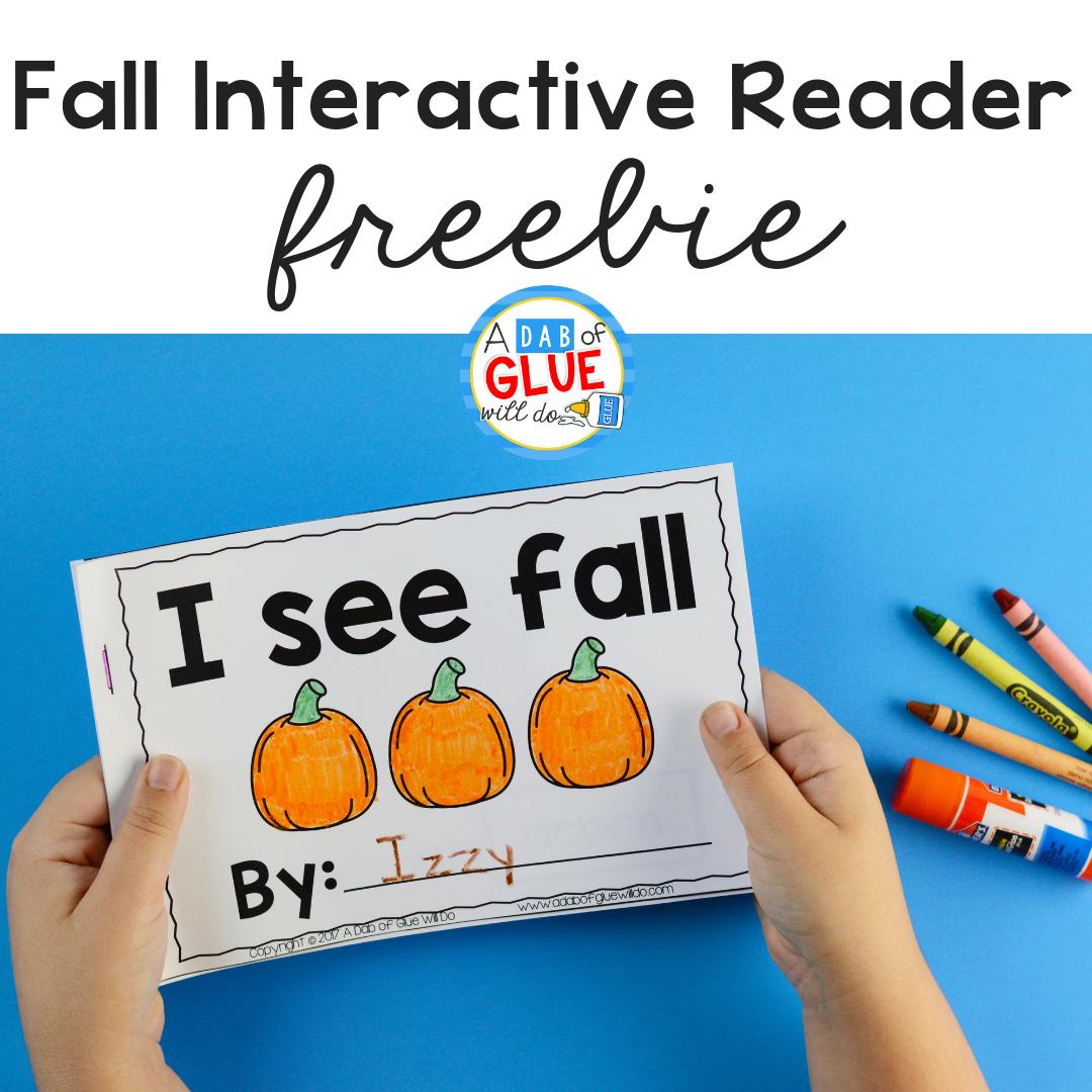I See Fall Interactive Reader