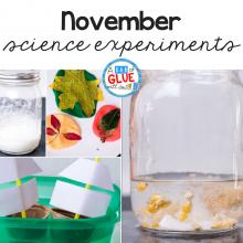 November Science Experiments