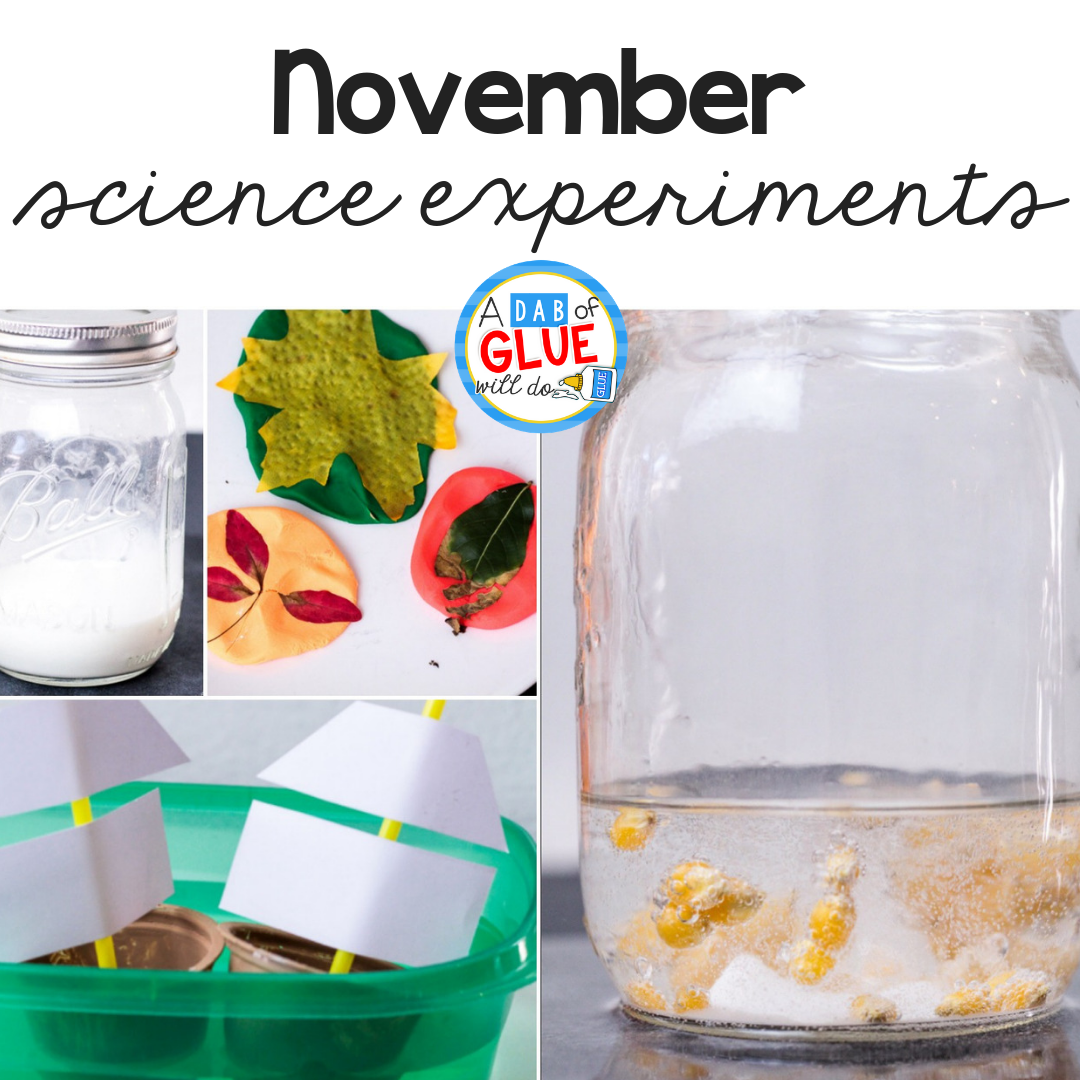 November Science Experiments