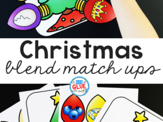 This ChristmasBlends Match-Upis perfect for students to practice blending together individual soundswithin words in a hands-on way!