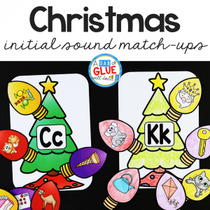 This Christmas Initial Sound Match-up resource is perfect for helping your little readers build on their phonological awareness.