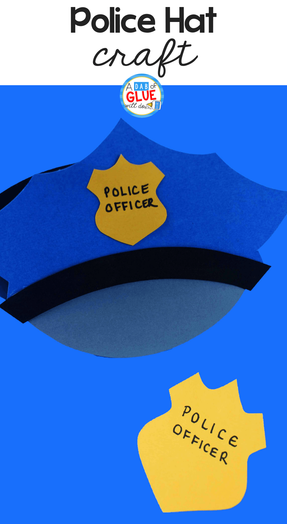 Paper Police Hat Craft