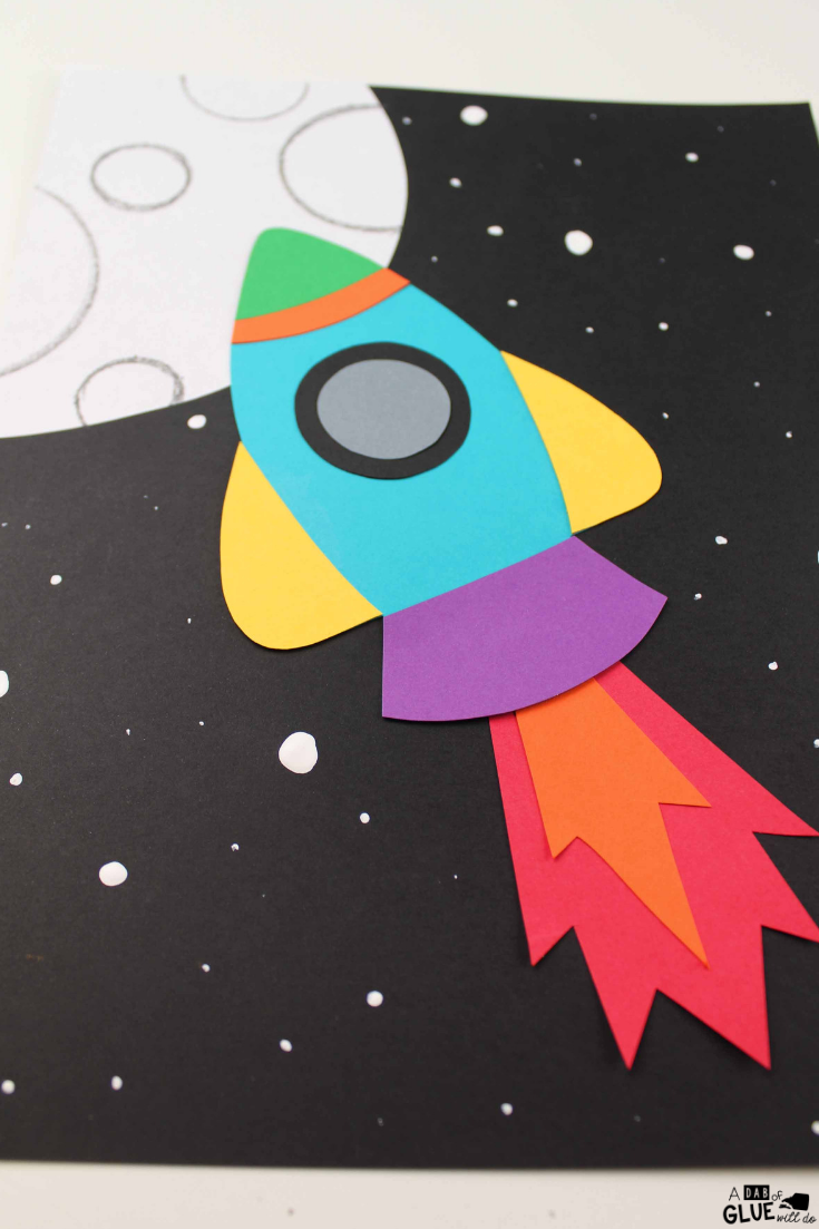 Use This Paper Rocket Craft With Your Little Learners During Science Units Or Arts