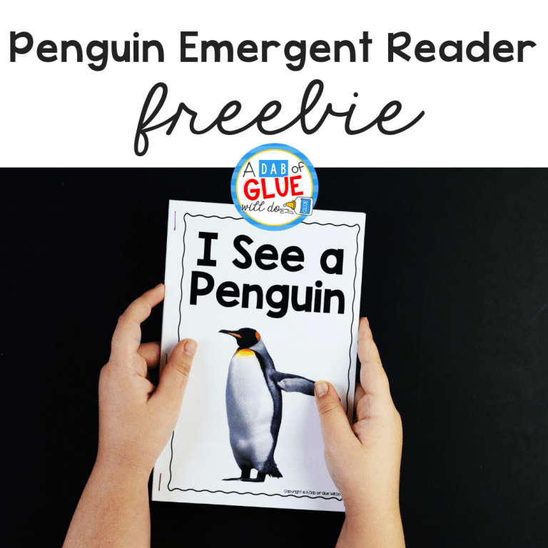 This Penguin Emergent Reader will help your students to build their print and phonological awareness in an enjoyable way.