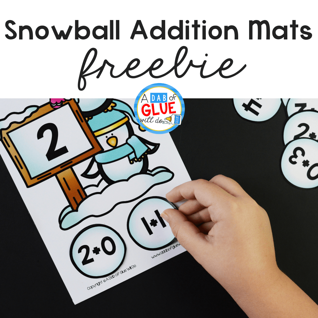 Snowball Addition Mats