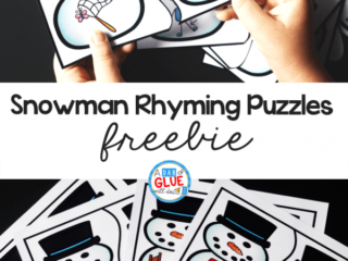 These SnowmanRhyming Puzzleshelp ourpreschool and kindergarten students build theirphonological awareness in a hands-on way.