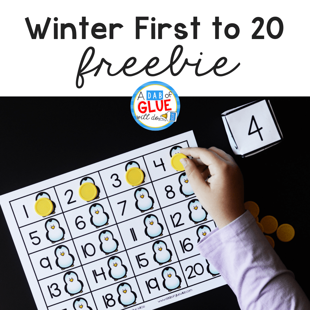 Winter First to 20 Activity