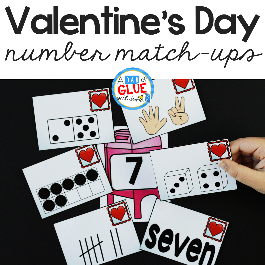 Valentine's Day Number Match-Up