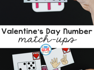 This exciting Valentine's Day Number Match-Up Activityis a great way to get kids learningwithout realizing they're learning.