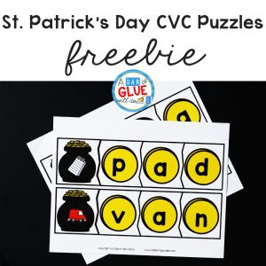 Using these St. Patrick's Day CVC puzzles will help your students to build their phonemic awareness using single syllable words in a hands-on way.
