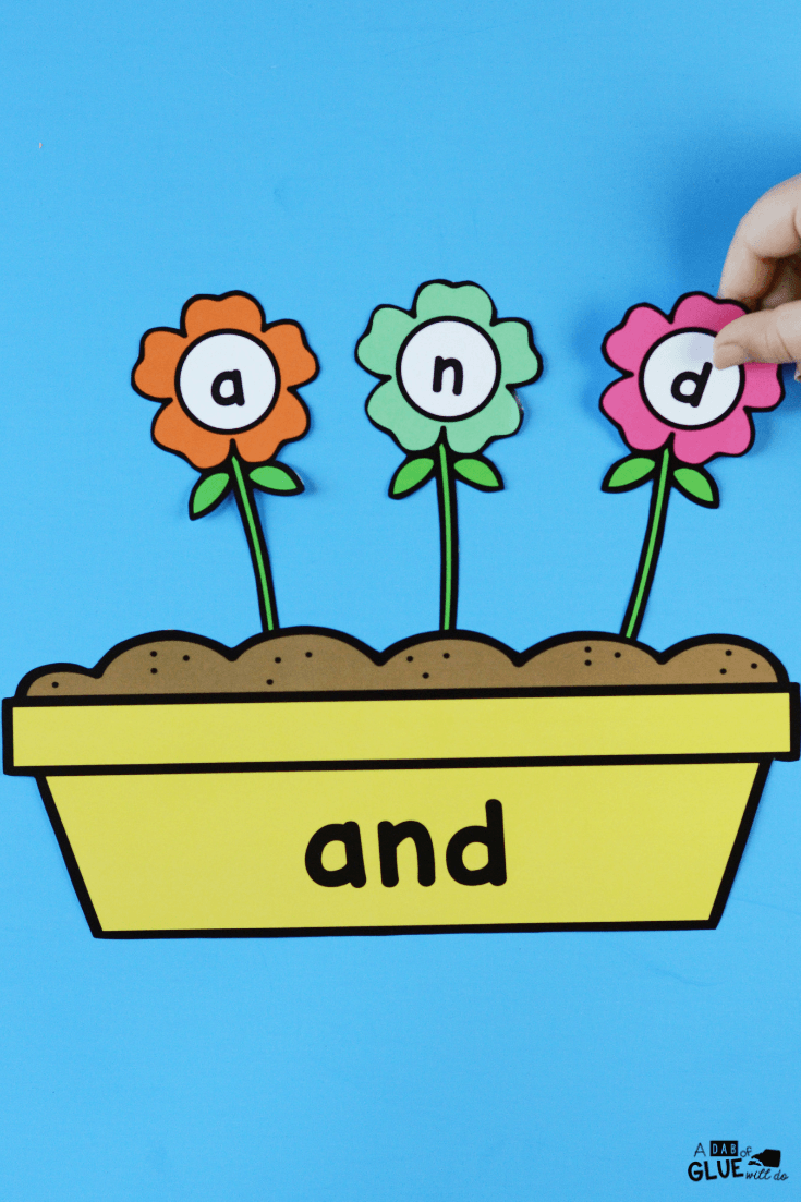 Connecting the blossoming spring season with literacy, I've created this Flowers Editable Sight Word Activity making learning sight words fun!