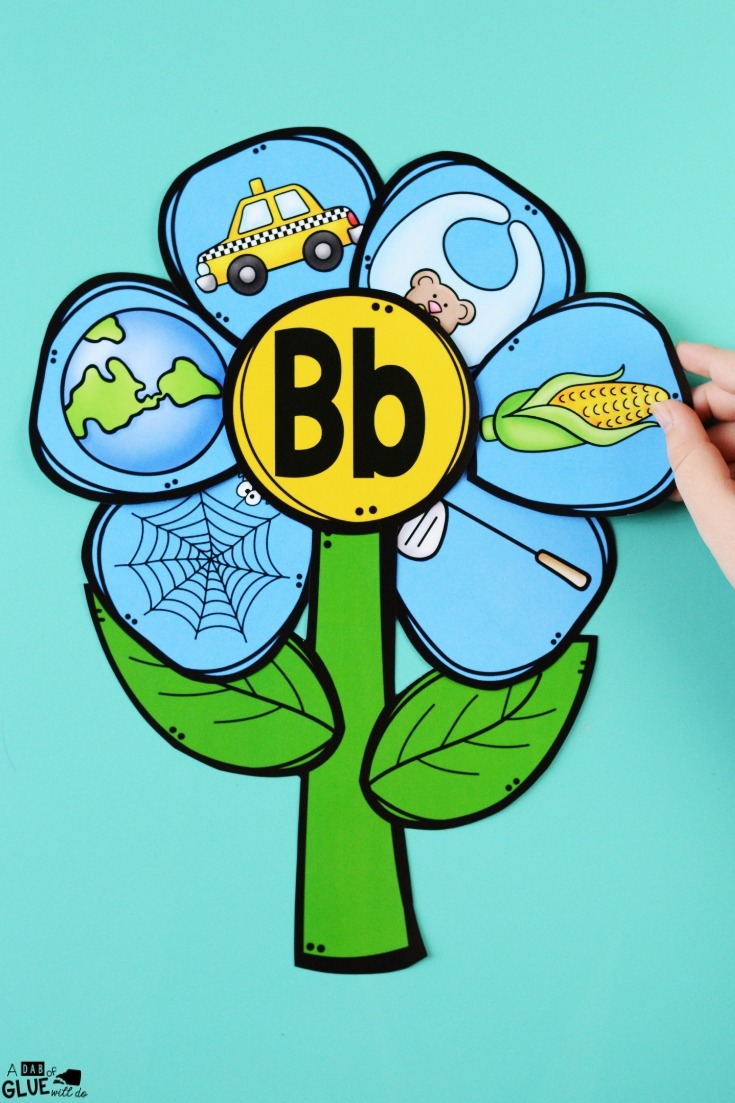 This Flowers Ending Sound Match-Up makes learning fun with a wonderful spring theme. Get your emerging readers working on ending sounds with these flowers.