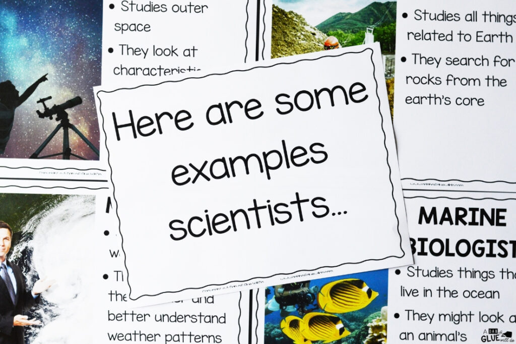 I've created this I Am a Scientist Unit so our future scientists can learn and research about what a scientist does and the tools they use.
