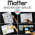 Matter Science Unit Hands-On learning for Students is packed full of experiments, activities, and scientific photographs.