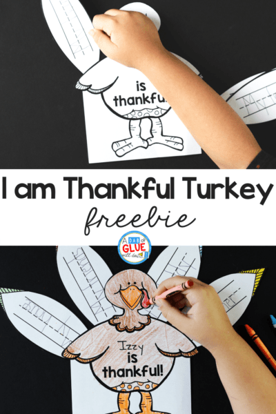 This I am Thankful Turkeyis a great way to bring crafts and literacy together in a hands-on way.