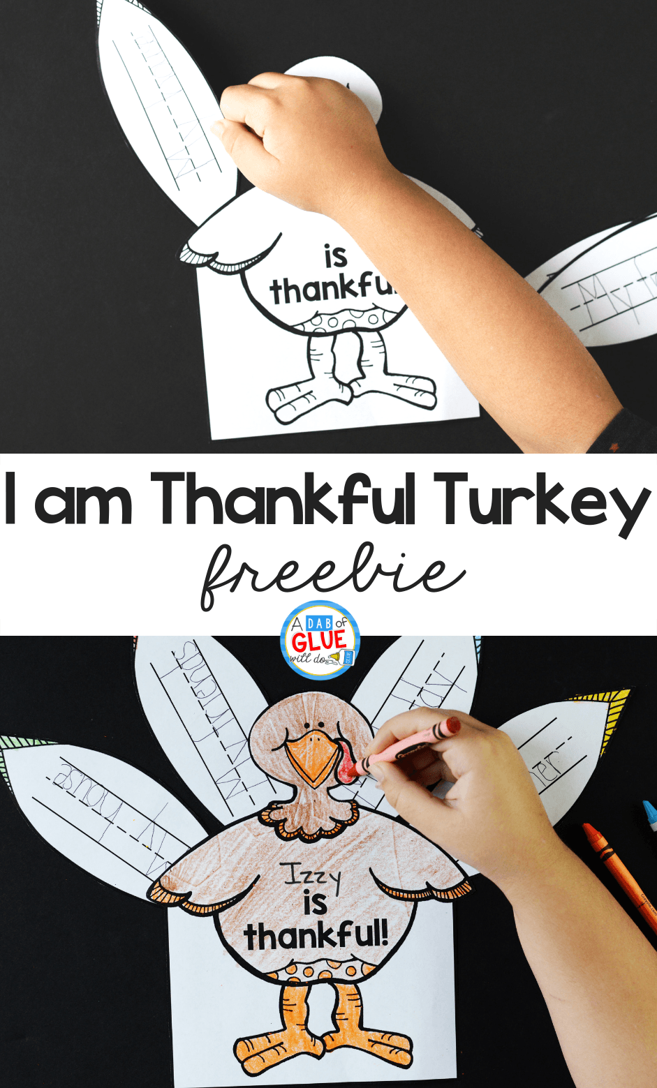 I am Thankful Turkey