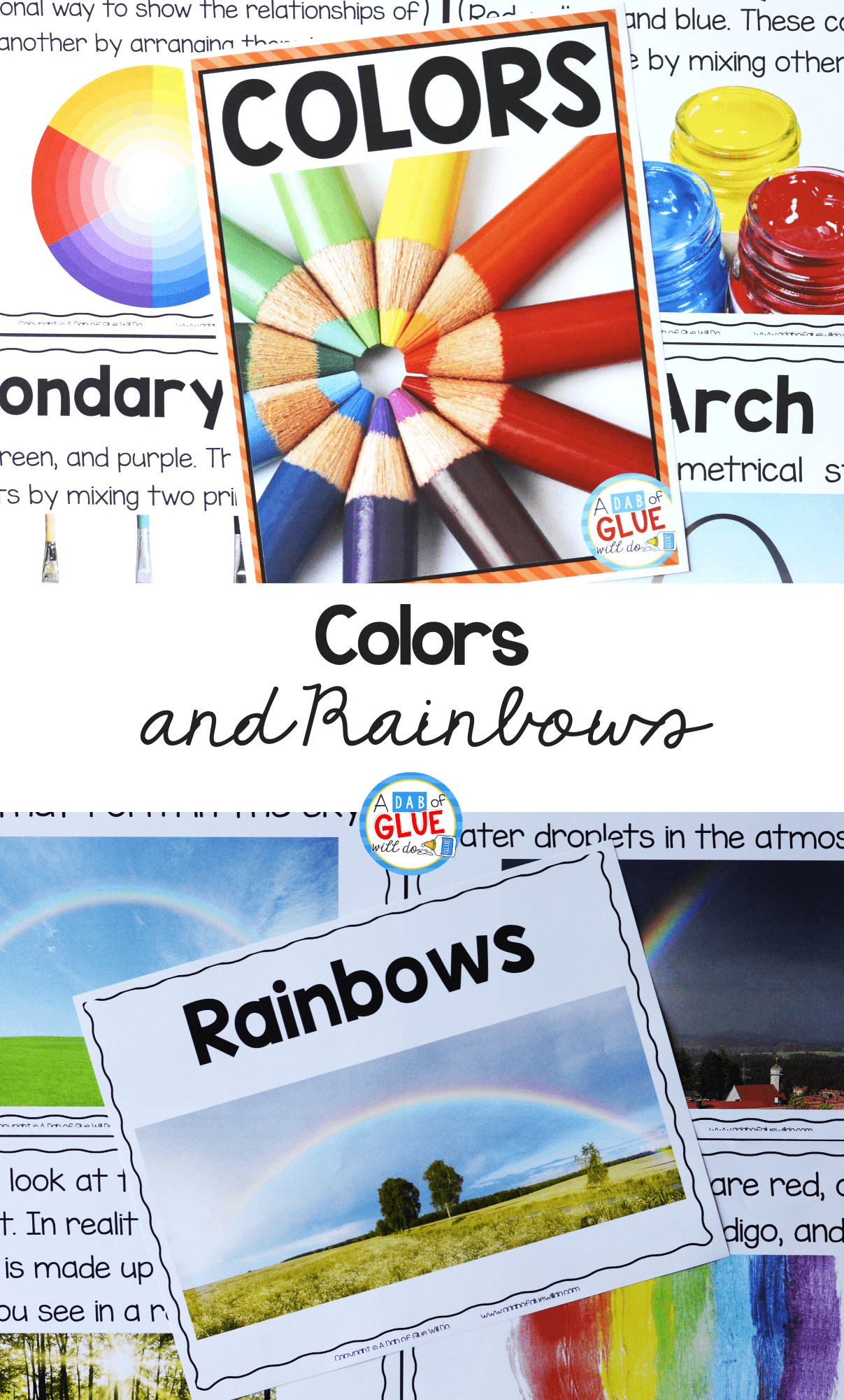 Colors and Rainbows Science Unit