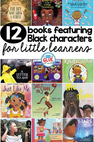One simple way we can make children feel included is to ensure there is a wide variety of books with Black characters in our classrooms.