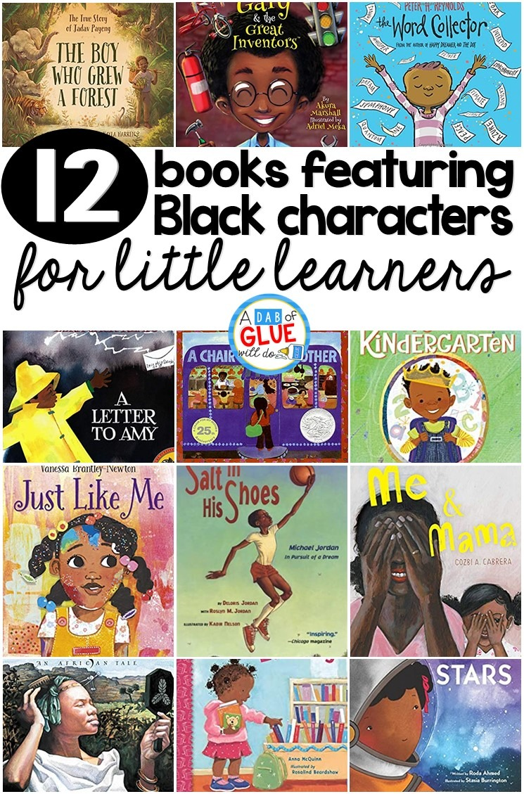 12 Books that Feature Black Characters for Little Learners