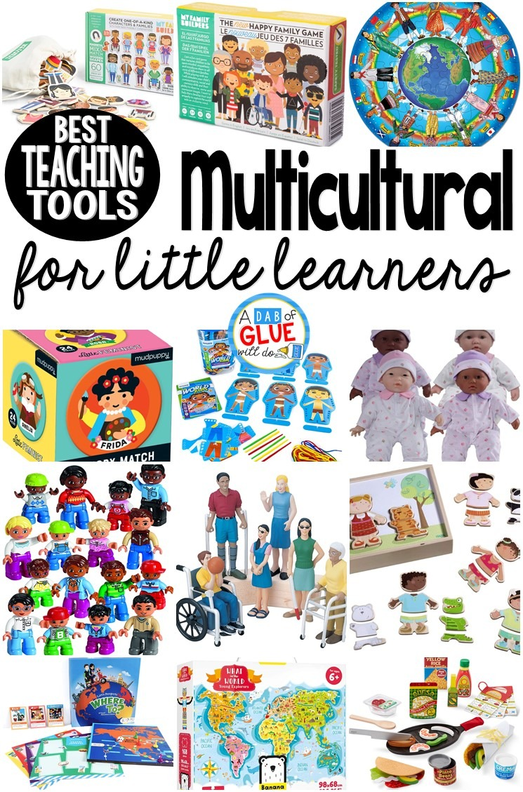 Best Multicultural Teaching Tools for Little Learners