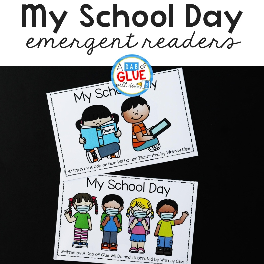 My School Day Emergent Readers Freebie