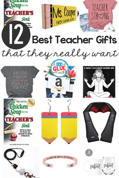 This list of best teacher gifts every teacher wants is perfect for holiday gifts for teachers or for Teacher Appreciation Gifts