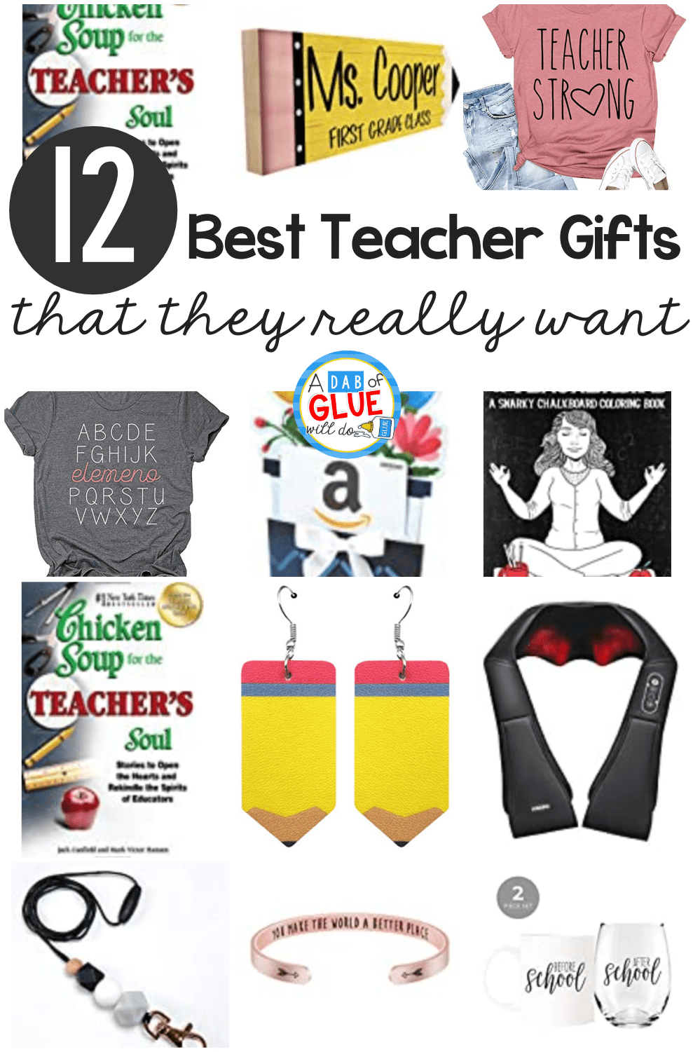 The Top 12 Best Teacher Gifts Teachers Always Ask For