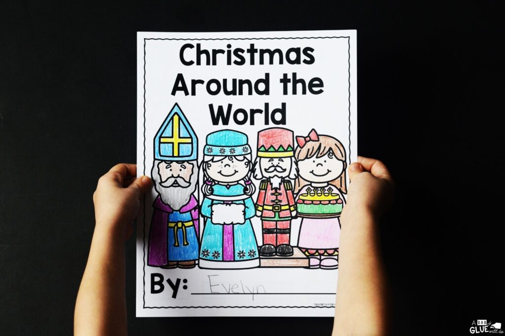 Kids love Christmas and what better way to explore the world we live in than with this Christmas Around the World Crafts and Activities Unit.