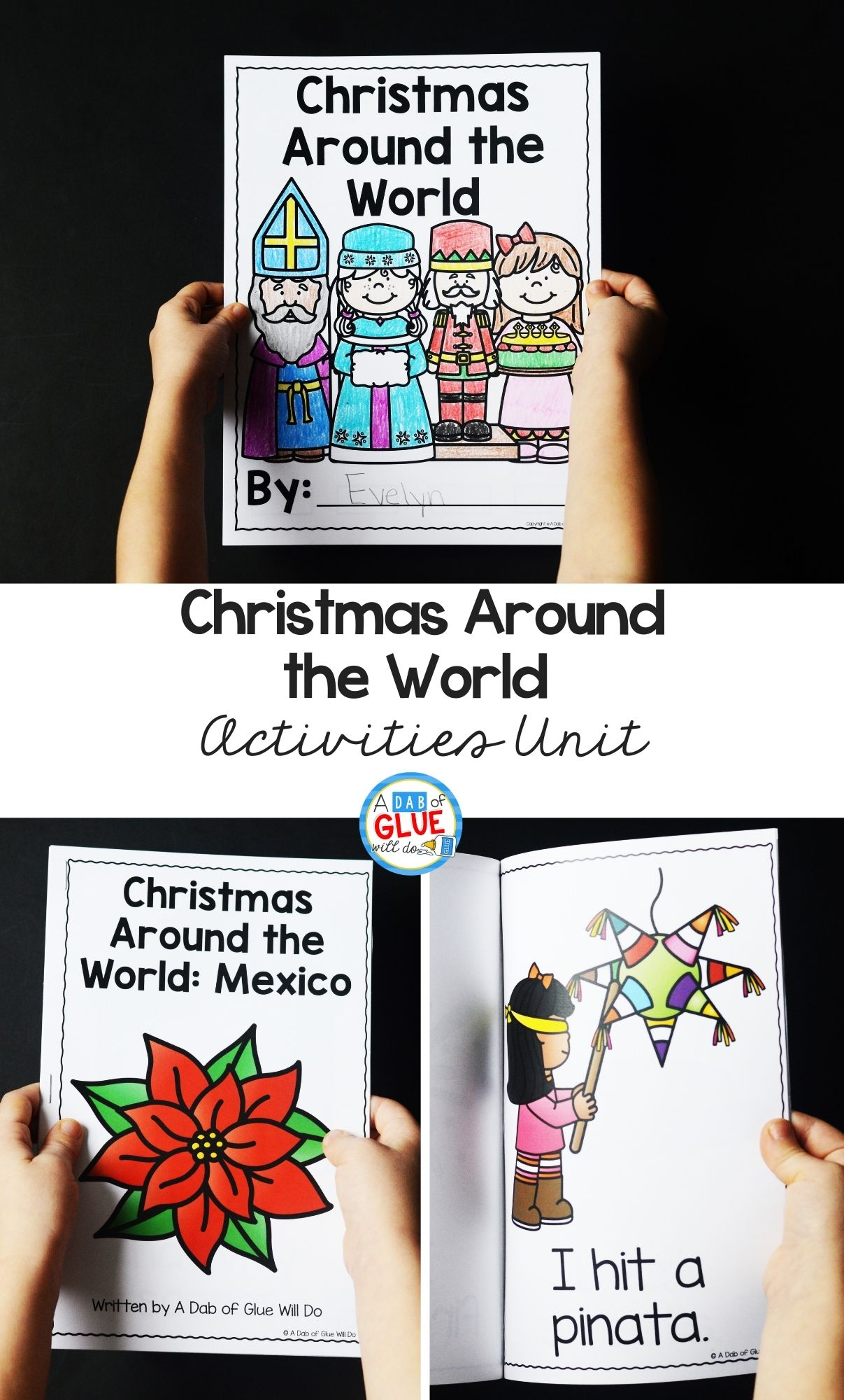 Christmas Around the World Crafts and Activities Unit